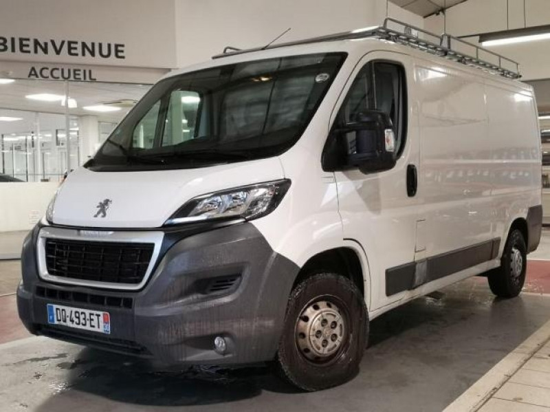 Peugeot BOXER FG 330 L2H1 2.2 HDI 110 PACK CD CLIM Diesel BLANC Occasion à vendre