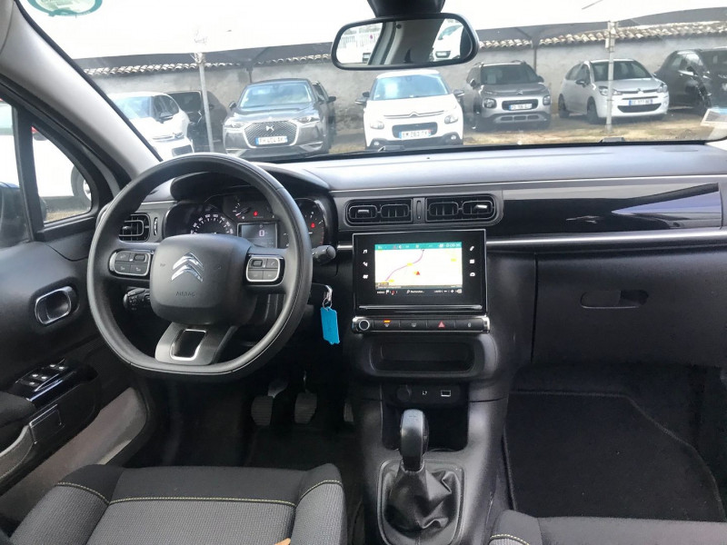 Photo 10 de l'offre de CITROEN C3 PURETECH 82CH FEEL BUSINESS S&S E6.D-TEMP à 12500€ chez Brignais automobiles