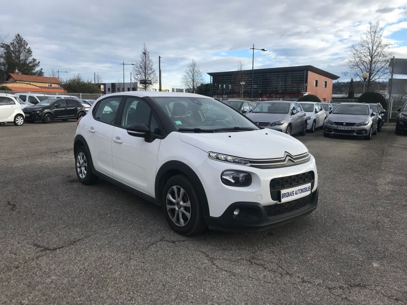 Photo 1 de l'offre de CITROEN C3 BLUEHDI 75CH FEEL BUSINESS S&S à 10900€ chez Brignais automobiles