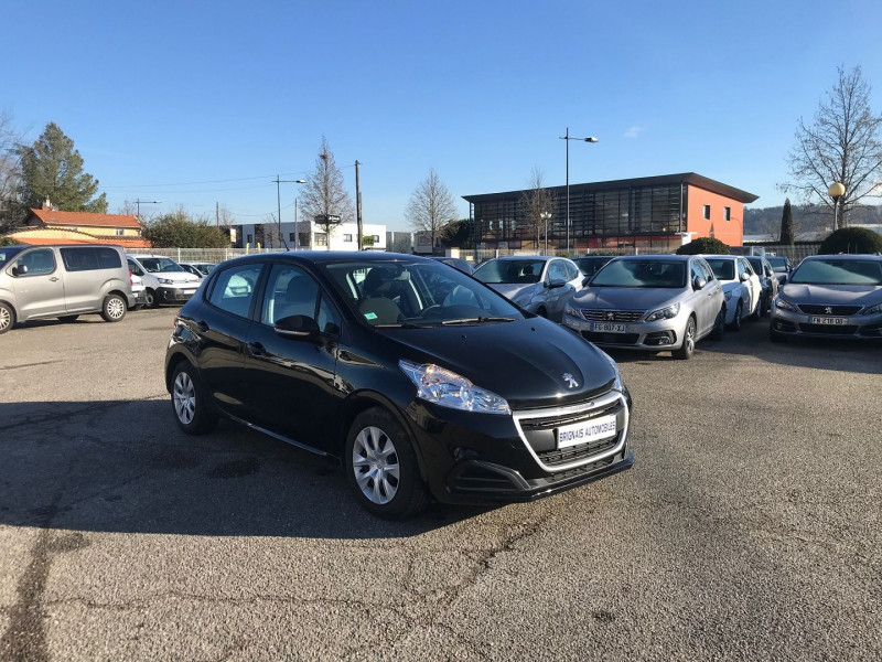 Peugeot 208 AFFAIRE 1.6 BLUEHDI 75CH PREMIUM Diesel NOIR Occasion à vendre
