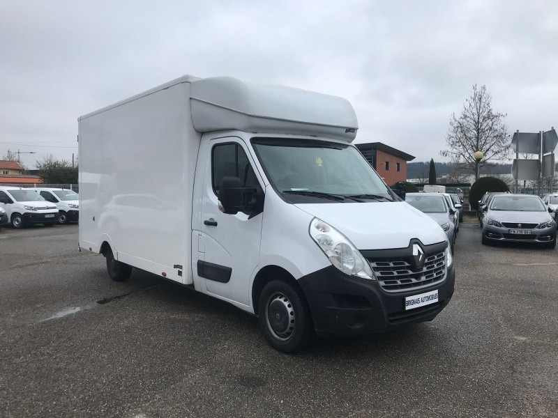 Renault MASTER III PLANCB F3500 L3H1 2.3 DCI 130CH GRAND CONFORT EURO6  + CAISSE  20 M3 Diesel BLANC Occasion à vendre