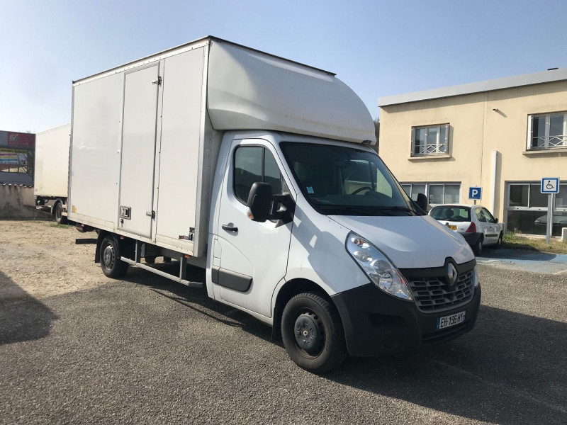 Renault MASTER III CCB R3500 L3 2.3 DCI 130CH CONF. CAISSE 20M3 + HAYON Diesel BLANC Occasion à vendre