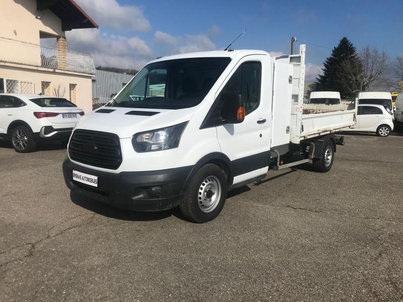 Photo 3 de l'offre de FORD TRANSIT 2T CCB T350 L3 2.0 TDCI 130CH AMBIENTE BENNE + COFFRE à 21480€ chez Brignais automobiles