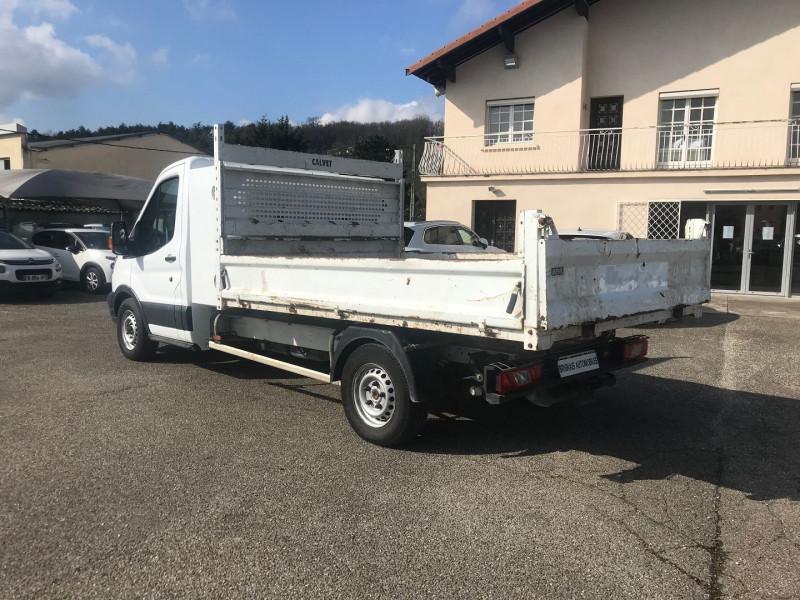 Photo 4 de l'offre de FORD TRANSIT 2T CCB T350 L3 2.0 TDCI 130CH AMBIENTE BENNE + COFFRE à 21480€ chez Brignais automobiles