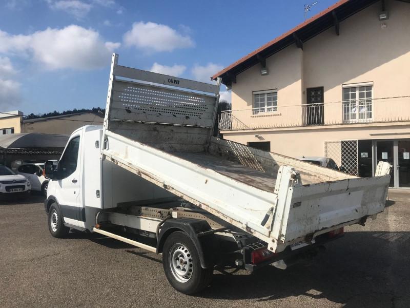 Photo 9 de l'offre de FORD TRANSIT 2T CCB T350 L3 2.0 TDCI 130CH AMBIENTE BENNE + COFFRE à 21480€ chez Brignais automobiles