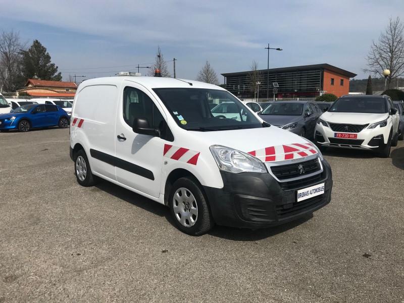 Peugeot PARTNER 120 L1 1.6 HDI FAP 75 PACK CD CLIM Diesel BLANC Occasion à vendre