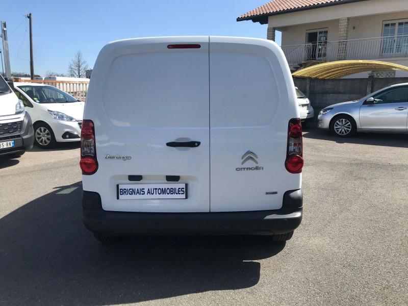 Photo 5 de l'offre de CITROEN BERLINGO M 1.6 BLUEHDI 100 S&S BUSINESS ETG6 à 13400€ chez Brignais automobiles