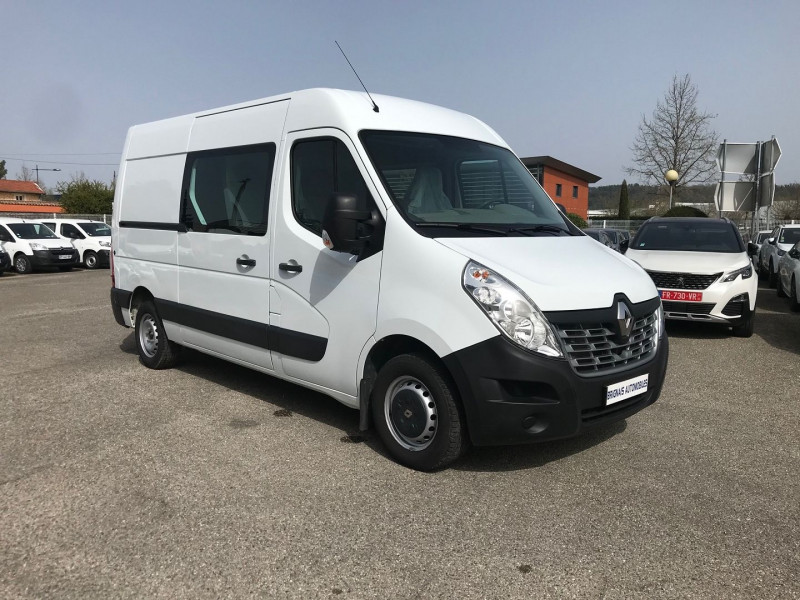 Renault MASTER III FG F3300 L2H2 2.3 DCI 110CH CABINE APPROFONDIE GRAND CONFORT EURO6 Diesel BLANC Occasion à vendre