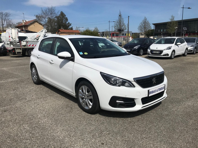 Peugeot 308 1.5 BLUEHDI 130CH S&S ACTIVE BUSINESS EAT8 Diesel BLANC Occasion à vendre
