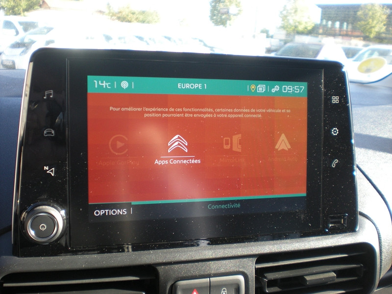 Photo 10 de l'offre de CITROEN BERLINGO VAN M 650KG BLUEHDI 75 CLUB à 17900€ chez Brignais automobiles