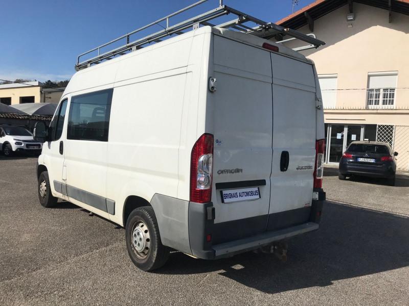 Photo 4 de l'offre de CITROEN JUMPER FG 33 L2H2 HDI 110  CAB  APP CONFORT à 11900€ chez Brignais automobiles
