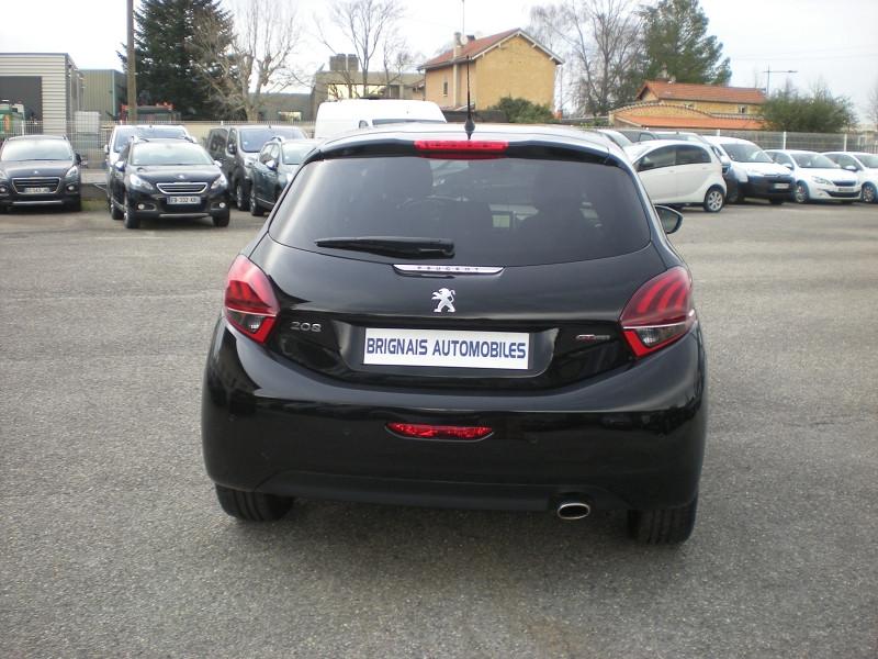 Photo 5 de l'offre de PEUGEOT 208 1.2 PURETECH 110CH E6.C GT LINE S&S 5P à 15500€ chez Brignais automobiles