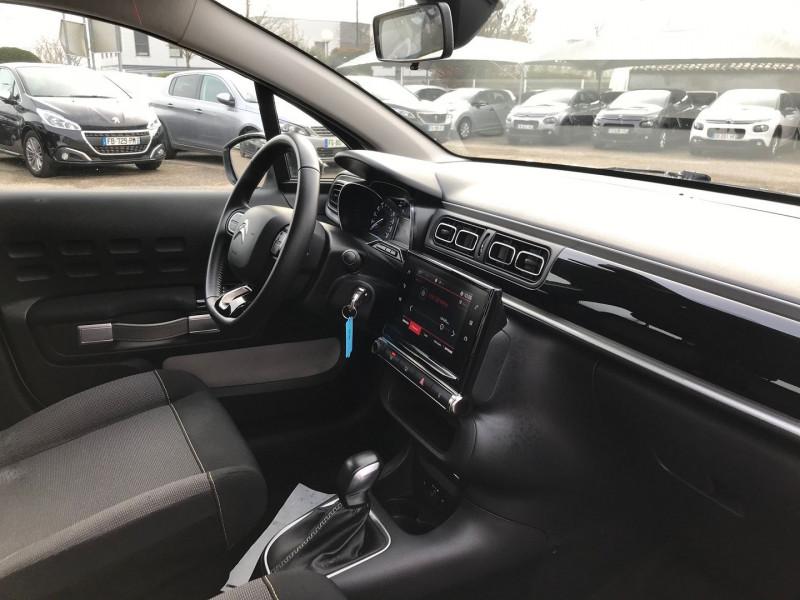 Photo 7 de l'offre de CITROEN C3 PURETECH 110CH SHINE S&S EAT6 à 12900€ chez Brignais automobiles