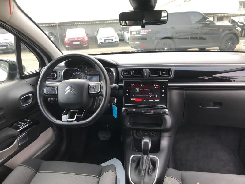 Photo 10 de l'offre de CITROEN C3 PURETECH 110CH SHINE S&S EAT6 à 12900€ chez Brignais automobiles