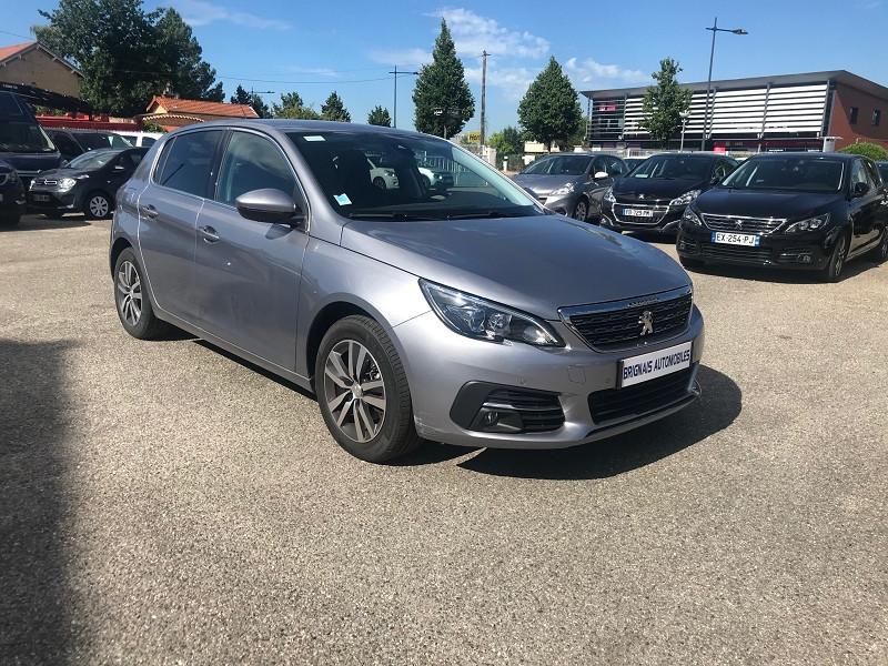 Peugeot 308 1.2 PURETECH 130CH E6.3 S&S ALLURE EAT8 Essence GRIS C Occasion à vendre