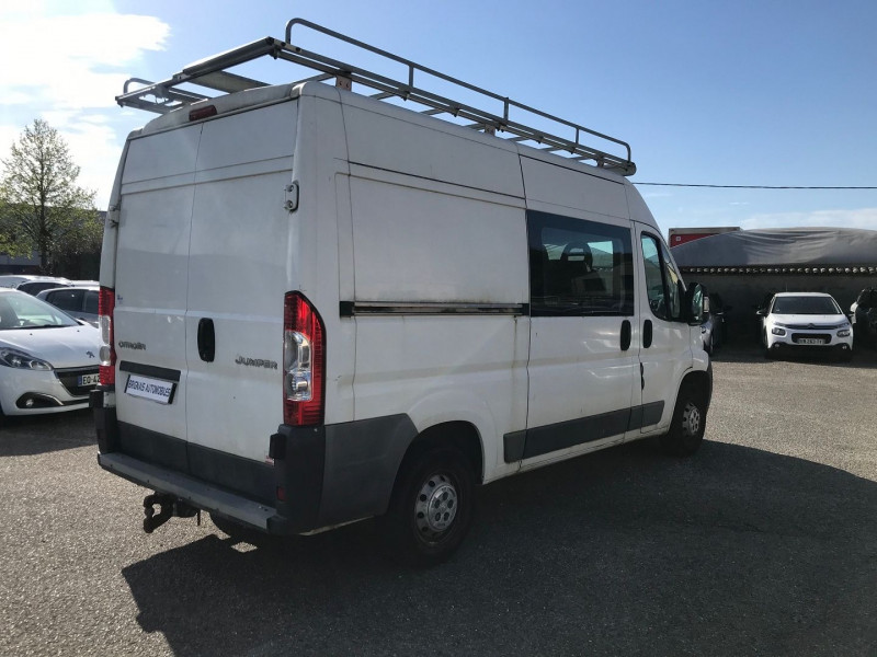 Photo 6 de l'offre de CITROEN JUMPER FG 33 L2H2 HDI 110  CAB  APP CONFORT à 11900€ chez Brignais automobiles