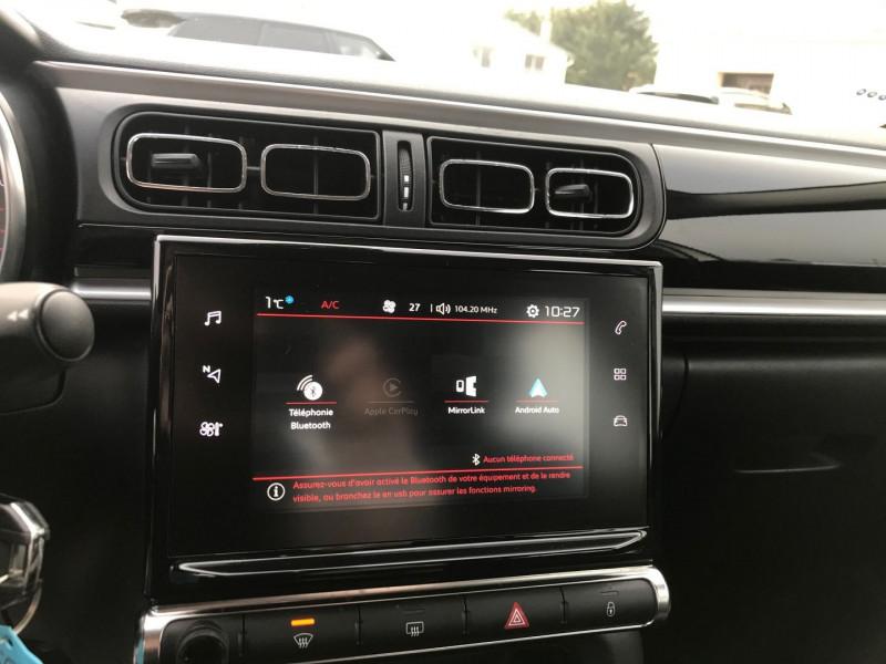 Photo 11 de l'offre de CITROEN C3 PURETECH 110CH SHINE S&S EAT6 à 12900€ chez Brignais automobiles