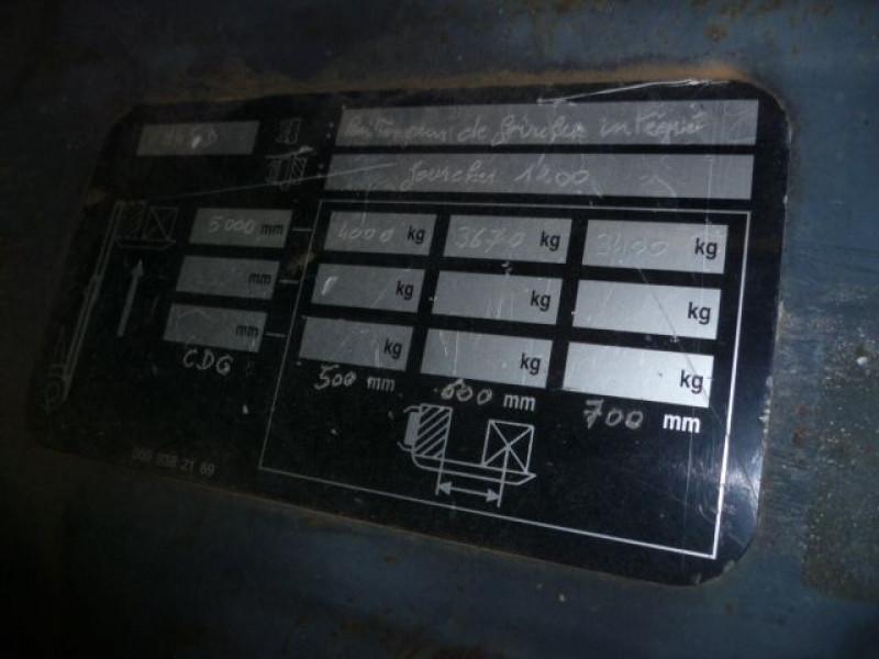 Photo 4 de l'offre de FENWICK CHARIOT FRONTAL DIESEL H45D à 17000€ chez Brignais automobiles