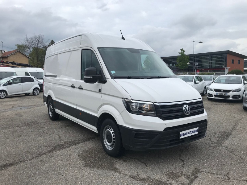 Volkswagen CRAFTER FG 35 L3H3 2.0 TDI 140CH BUSINESS LINE TRACTION Diesel BLANC Occasion à vendre