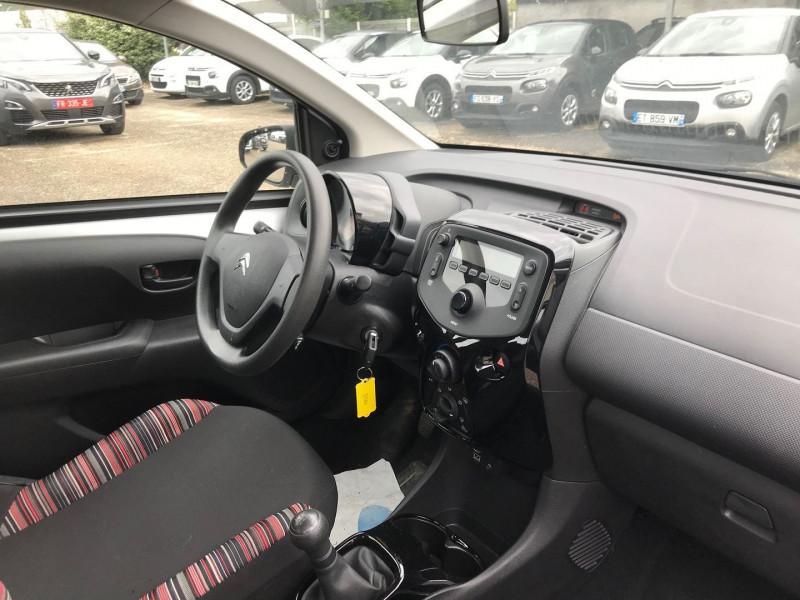 Photo 7 de l'offre de CITROEN C1 VTI 72 FEEL 5P à 9400€ chez Brignais automobiles