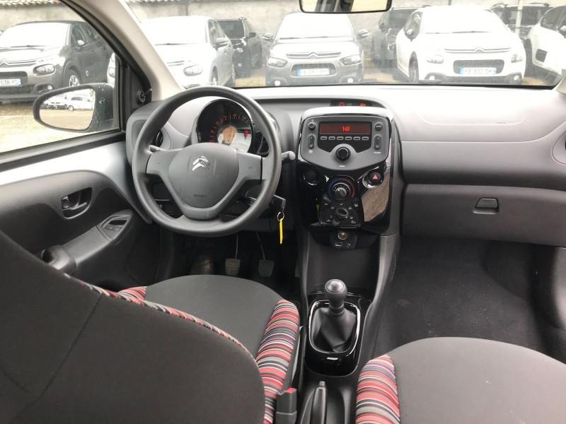 Photo 10 de l'offre de CITROEN C1 VTI 72 FEEL 5P à 9400€ chez Brignais automobiles