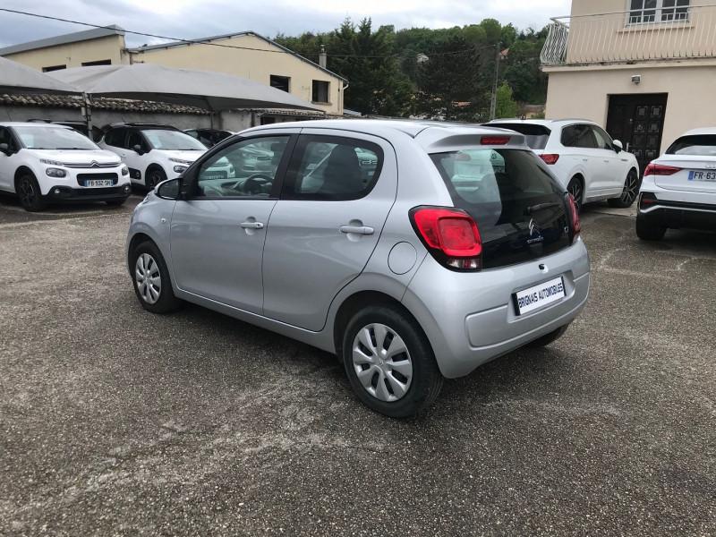 Photo 4 de l'offre de CITROEN C1 VTI 72 FEEL 5P à 9400€ chez Brignais automobiles