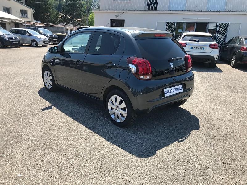 Photo 4 de l'offre de PEUGEOT 108 VTI 72 STYLE 5P à 10900€ chez Brignais automobiles