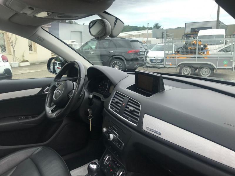 Photo 7 de l'offre de AUDI Q3 2.0 TFSI 211CH AMBITION LUXE QUATTRO S TRONIC 7 à 15900€ chez Brignais automobiles
