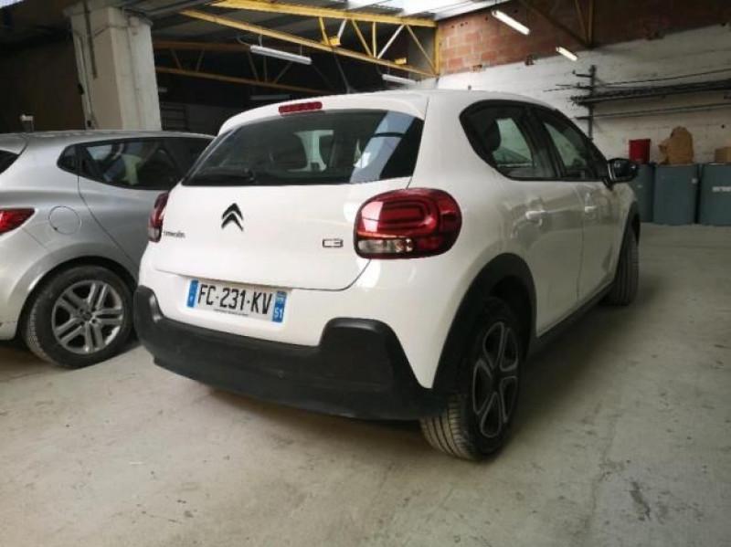 Photo 4 de l'offre de CITROEN C3 PURETECH 82CH SHINE S&S E6.D-TEMP à 12400€ chez Brignais automobiles