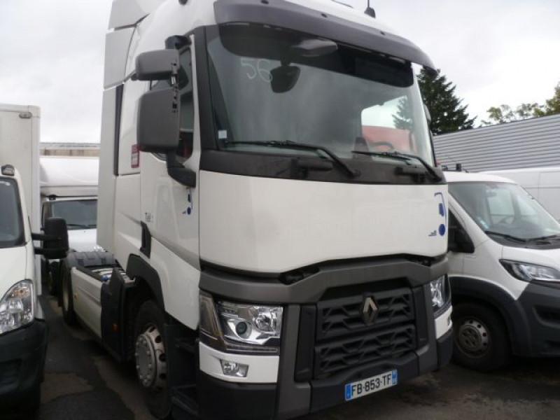 Renault Trucks T T 460 OPTIFUEL RALENTISSEUR T4X2 E6 Diesel BLANC Occasion à vendre