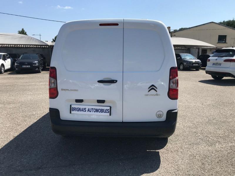 Photo 5 de l'offre de CITROEN BERLINGO VAN XL 950KG BLUEHDI 100 S&S CLUB à 16200€ chez Brignais automobiles