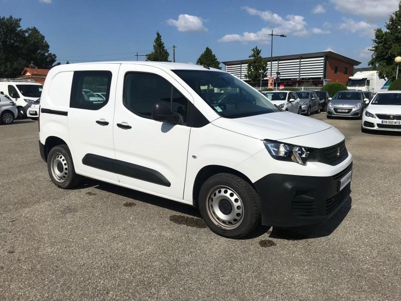 Peugeot PARTNER STANDARD 1000KG BLUEHDI 100CH S&S PREMIUM Diesel BLANC Occasion à vendre