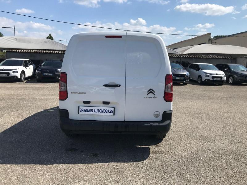 Photo 5 de l'offre de CITROEN BERLINGO VAN XL 950KG BLUEHDI 100 S&S CLUB à 15900€ chez Brignais automobiles