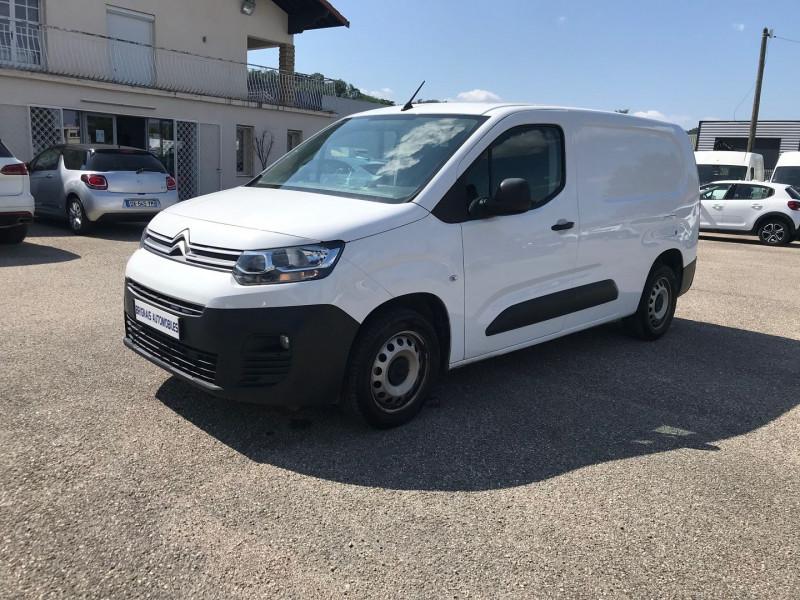 Photo 3 de l'offre de CITROEN BERLINGO VAN XL 950KG BLUEHDI 100 S&S CLUB à 15900€ chez Brignais automobiles