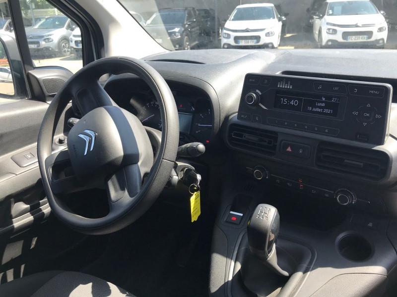 Photo 9 de l'offre de CITROEN BERLINGO VAN XL 950KG BLUEHDI 100 S&S CLUB à 16200€ chez Brignais automobiles