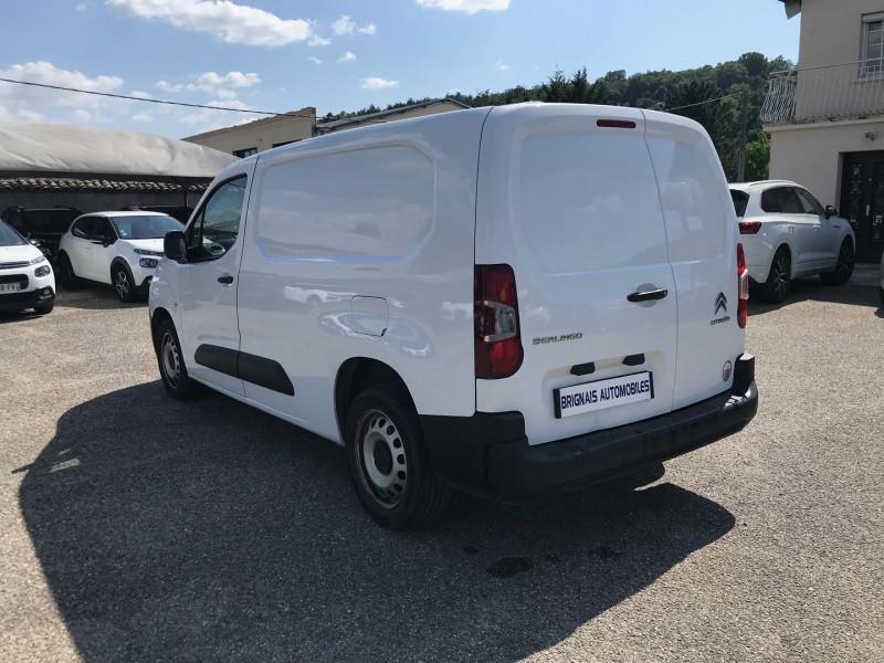 Photo 4 de l'offre de CITROEN BERLINGO VAN XL 950KG BLUEHDI 100 S&S CLUB à 15900€ chez Brignais automobiles