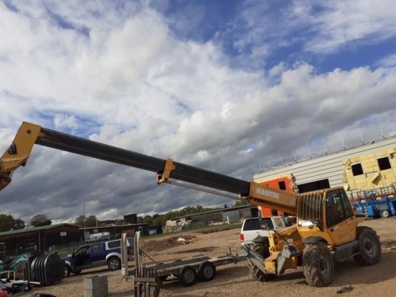 Photo 2 de l'offre de MANITOU CHARIOT MANUSCOPIC MT1435 à 28800€ chez Brignais automobiles