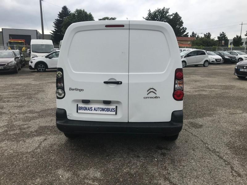 Photo 5 de l'offre de CITROEN BERLINGO 20 L1 1.6 HDI 90 CLUB CAISSE ISOTHERME à 11880€ chez Brignais automobiles