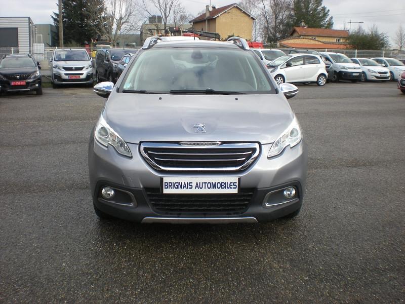 Photo 2 de l'offre de PEUGEOT 2008 1.6 BLUEHDI 100CH FELINE TITANE à 15900€ chez Brignais automobiles