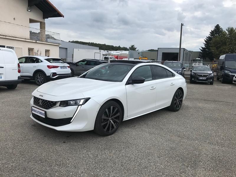 Photo 3 de l'offre de PEUGEOT 508 BLUEHDI 180CH S&S GT LINE EAT8 à 36900€ chez Brignais automobiles