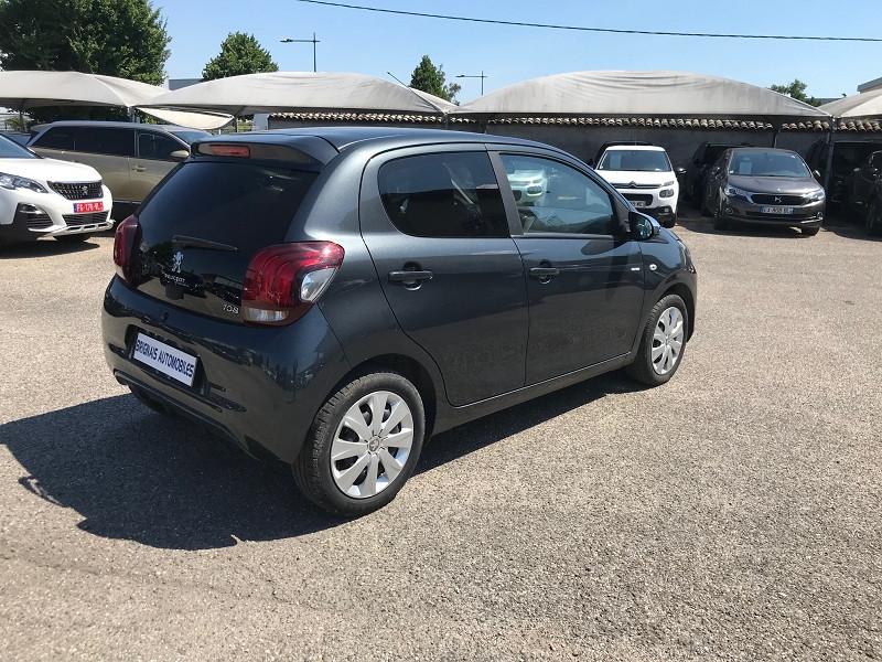 Photo 6 de l'offre de PEUGEOT 108 VTI 72 STYLE 5P à 10900€ chez Brignais automobiles