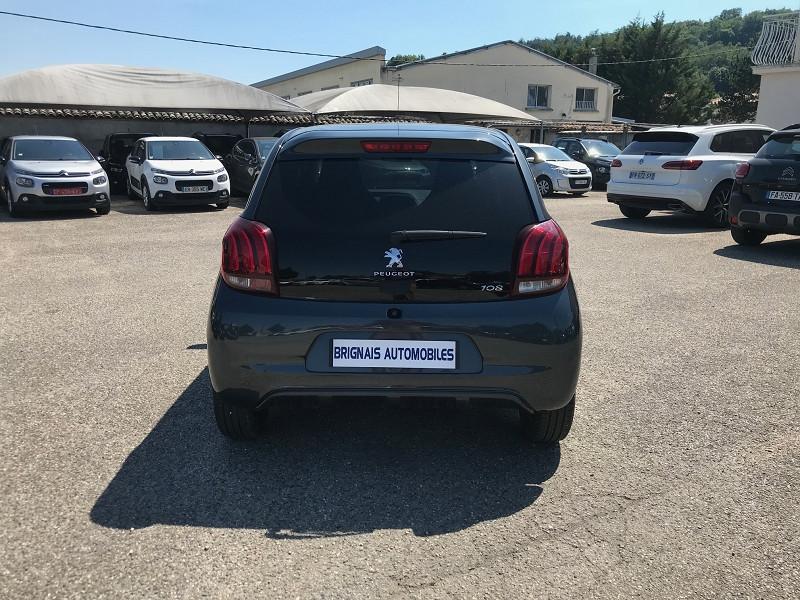 Photo 5 de l'offre de PEUGEOT 108 VTI 72 STYLE 5P à 10900€ chez Brignais automobiles