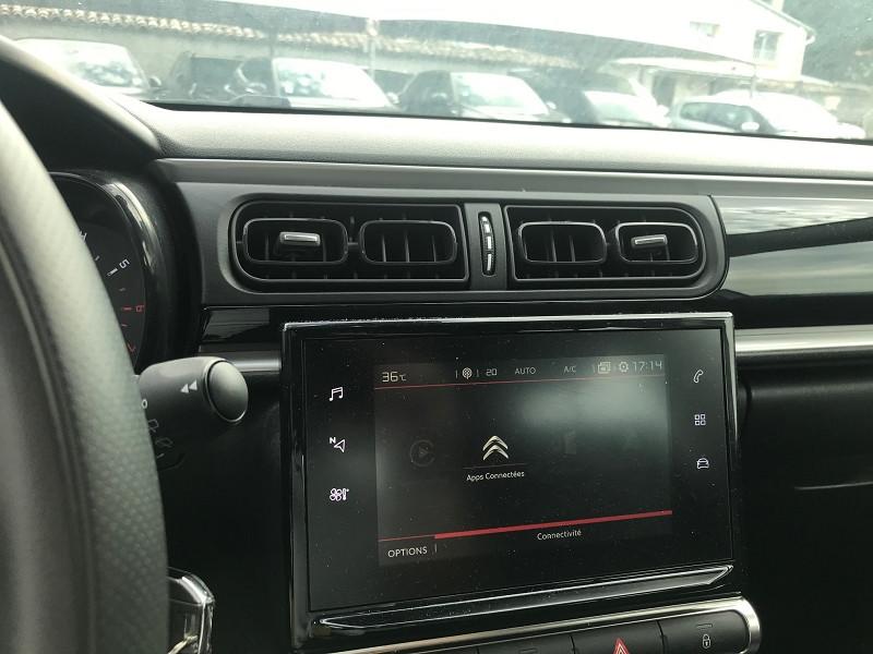 Photo 11 de l'offre de CITROEN C3 BLUEHDI 100CH FEEL S&S E6.D-TEMP à 14500€ chez Brignais automobiles