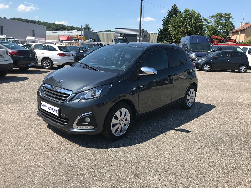 Photo 3 de l'offre de PEUGEOT 108 VTI 72 STYLE 5P à 10900€ chez Brignais automobiles