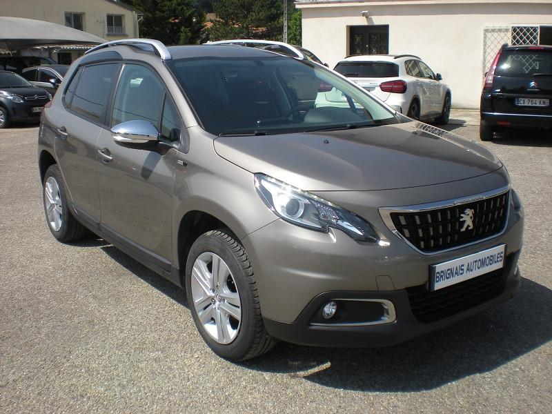 Peugeot 2008 1.2 PURETECH 82CH STYLE Essence GRIS C Occasion à vendre