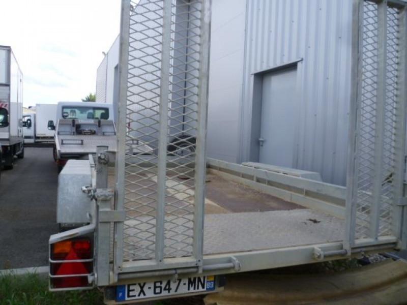 Photo 4 de l'offre de CHAUVEAU MECANO REMORQUE PORTE-MATERIEL PM35RP35 à 7080€ chez Brignais automobiles