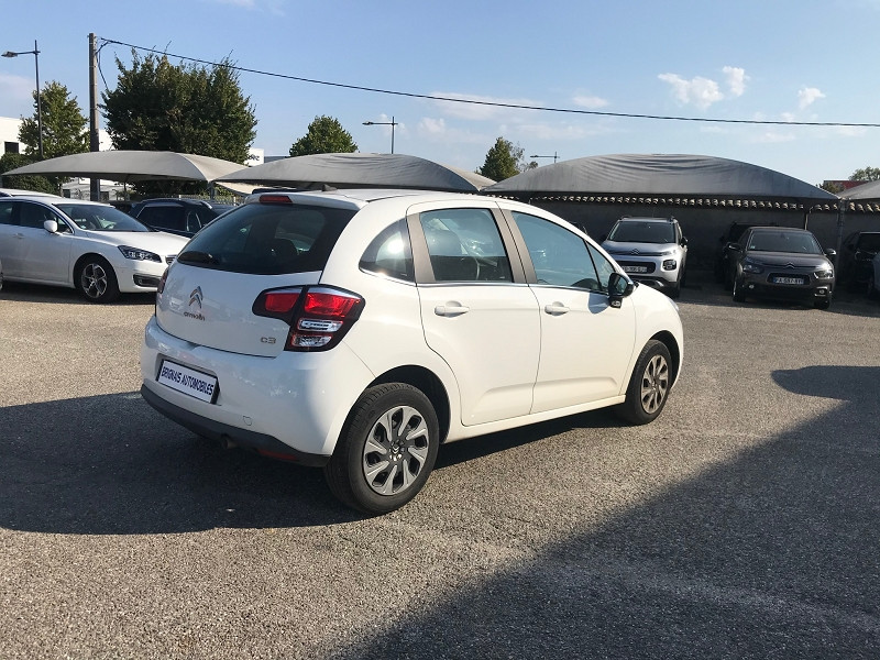 Photo 6 de l'offre de CITROEN C3 BLUEHDI 75 CONFORT BUSINESS S&S 79G à 9400€ chez Brignais automobiles