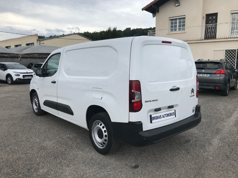 Photo 4 de l'offre de CITROEN BERLINGO VAN XL 950KG BLUEHDI 100 S&S CLUB à 14900€ chez Brignais automobiles