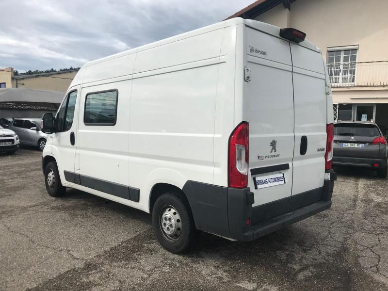 Photo 4 de l'offre de PEUGEOT BOXER FG 333 L2H2  2.0 BLUEHDI 130 CAB APPROF PREMIUM PACK à 15900€ chez Brignais automobiles