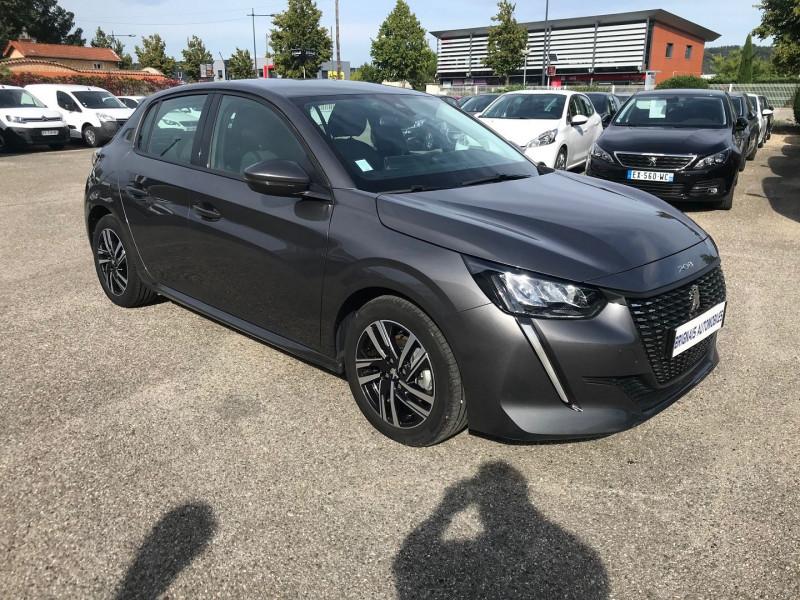 Peugeot 208 1.2 PURETECH 100CH S&S ALLURE Essence GRIS F Occasion à vendre